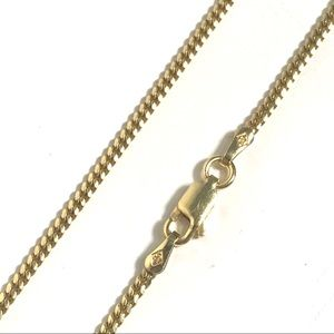 Other - Mini Cuban Link Chain 30 In 925 Sterling Silver